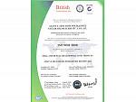 Alanya Dental Clinic ISO Certificate