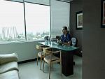 Dr. Alan Antillon at his office