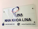 Lina Dental Clinic Signage