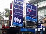 Patong Smile Dental Clinic Signage